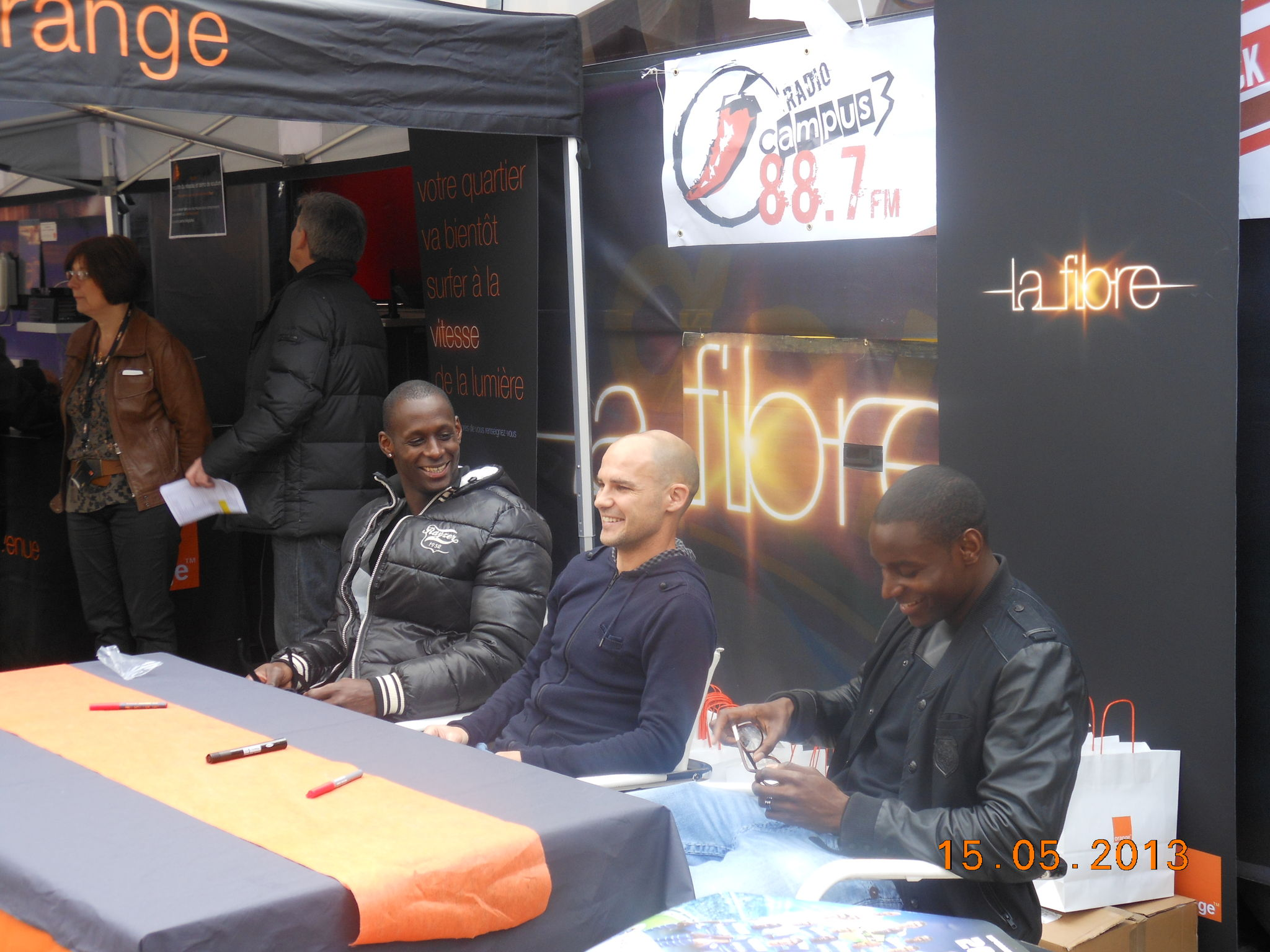 Fibre Orange avec l'ESTAC et Radio Campus3