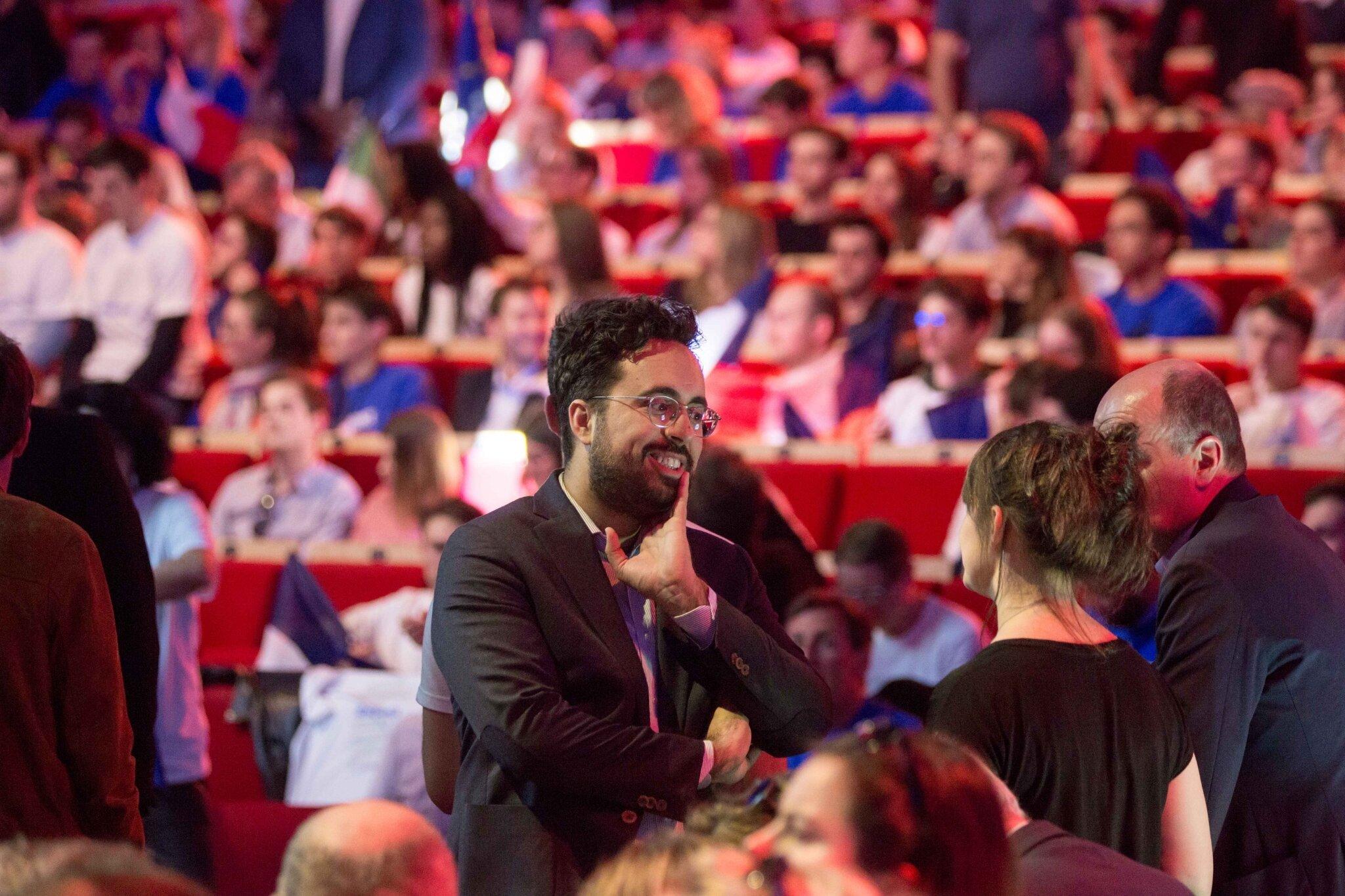 Édouard Philippe vient soutenir Nathalie Loiseau. © Michel Stoupak. Sam 30.03.2019, 16h05m59.