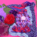 Début sac crochet free form