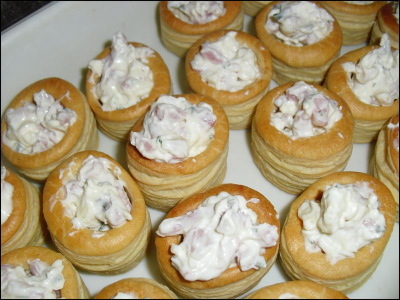 Mini Bouchees Aperitives Gourmandises Cie