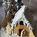 Maison en biscuits au miel ....