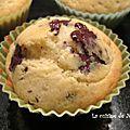 Recette de muffins moelleux