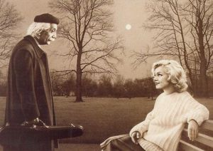 art_unknown_Einstein_and_Marilyn