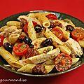 Salade de pâtes au thon à la sicilienne