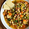 Du chorizo dans ma soupe de légumes