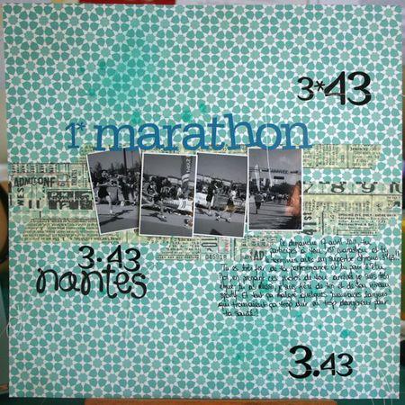 1er marathon