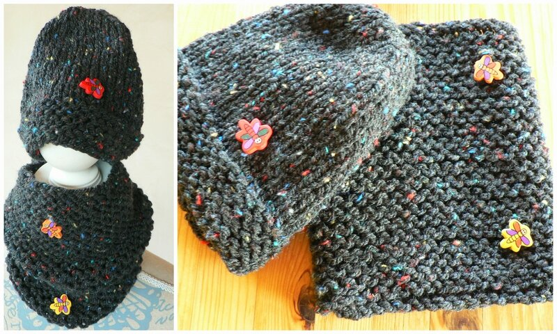 bonner + snood enfant