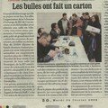 Photo de presse (bourse bd)