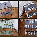 1 escabeau message