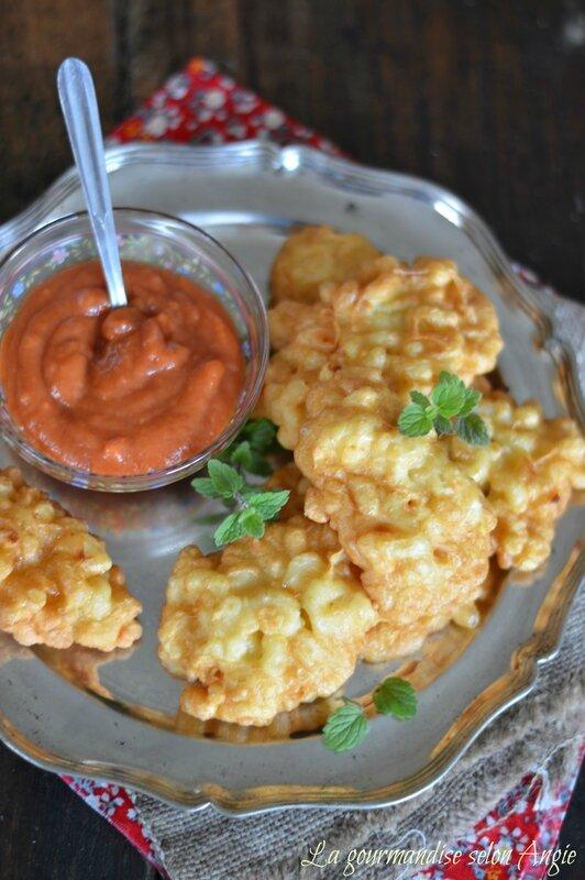 beignets de pâtes salés ou sucrés