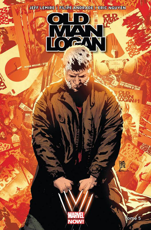 marvel now old man logan 05 vies passées
