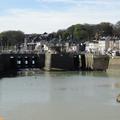 St VALERY EN CAUX. Le chenal, le pont-levis ...