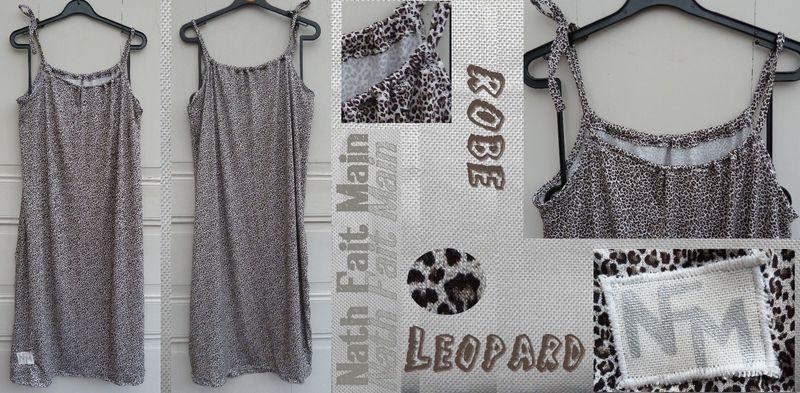 Robe léopard jersey