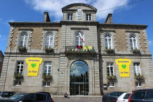 Avranches aime le Tour de France 2013 mairie