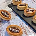 Biscuits de savoie au nutella