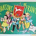Album ancien ... chansons de france (1959) * chocolat poulain