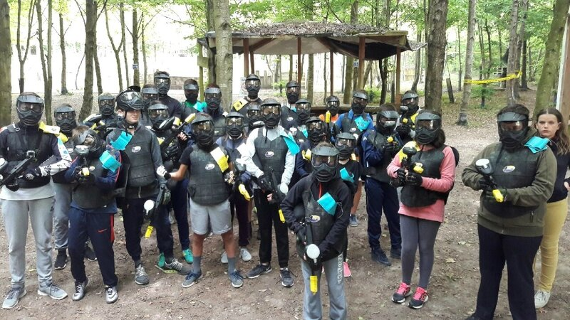 Paintball pour le Club ADO