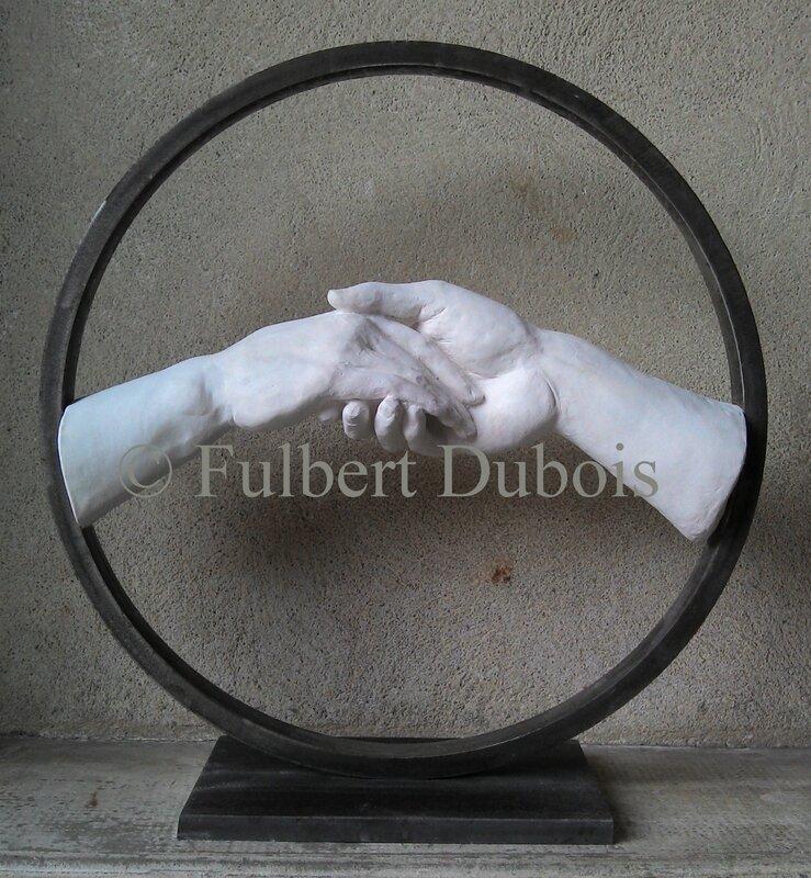 Fulbert DUBOIS sculpteur - sculpture mains