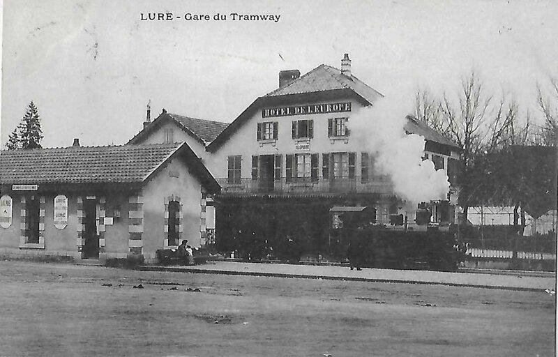 lure gare du tramway 70