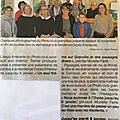 Vernissage de notre expo photo a la residence orpea l' emeraude de granville.