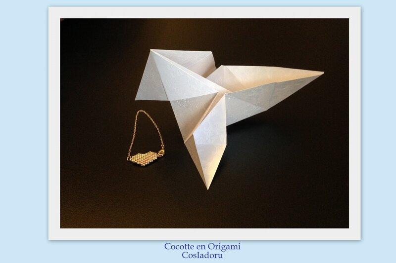 Cocotte en Origami1