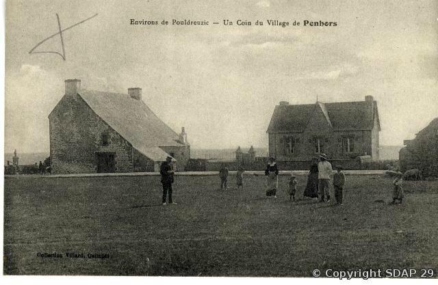 Un coin de village de Penhors