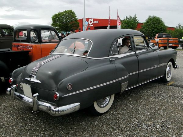 pontiac chieftain 4door sedan 1951 b