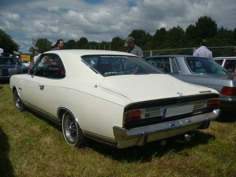 OPEL Commodore A GS-E coupé 1971 Eutingen im Gau (2)