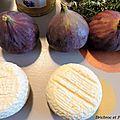 Papillote de figues et fromage de chèvre