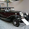 HORCH type 670 cabriolet 1932 Mulhouse (1)
