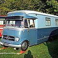 Mercedes 0321 H camping car (30 ème Bourse d'échanges de Lipsheim) 01