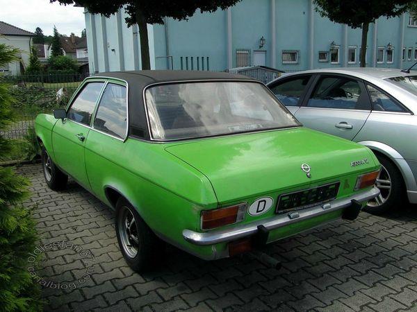 opel ascona a 12 berline 2 portes 1970 1975 b