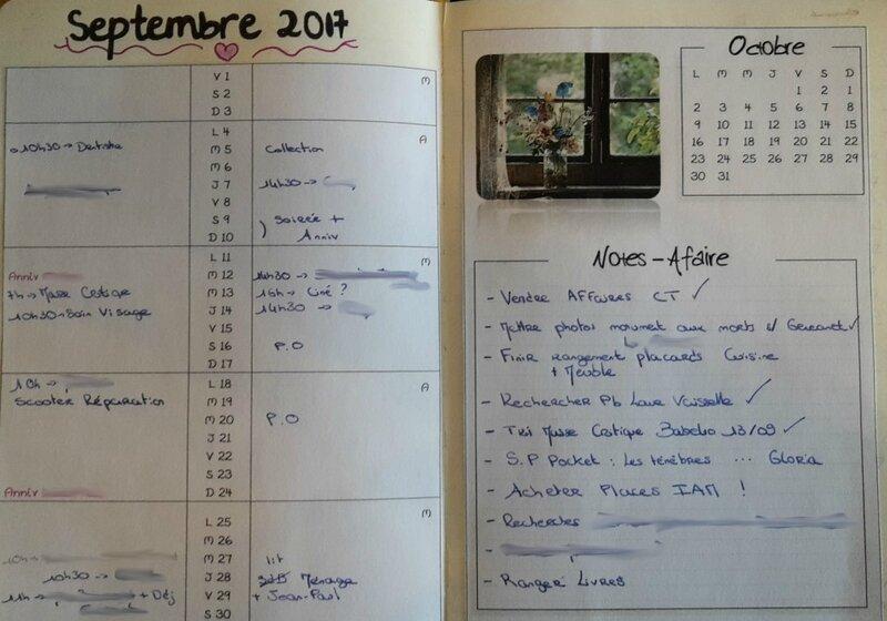 Ma page de Septembre