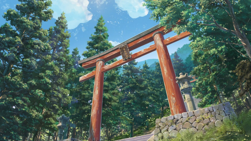 Canalblog Anime Makoto Shinkai Your Name Nature01