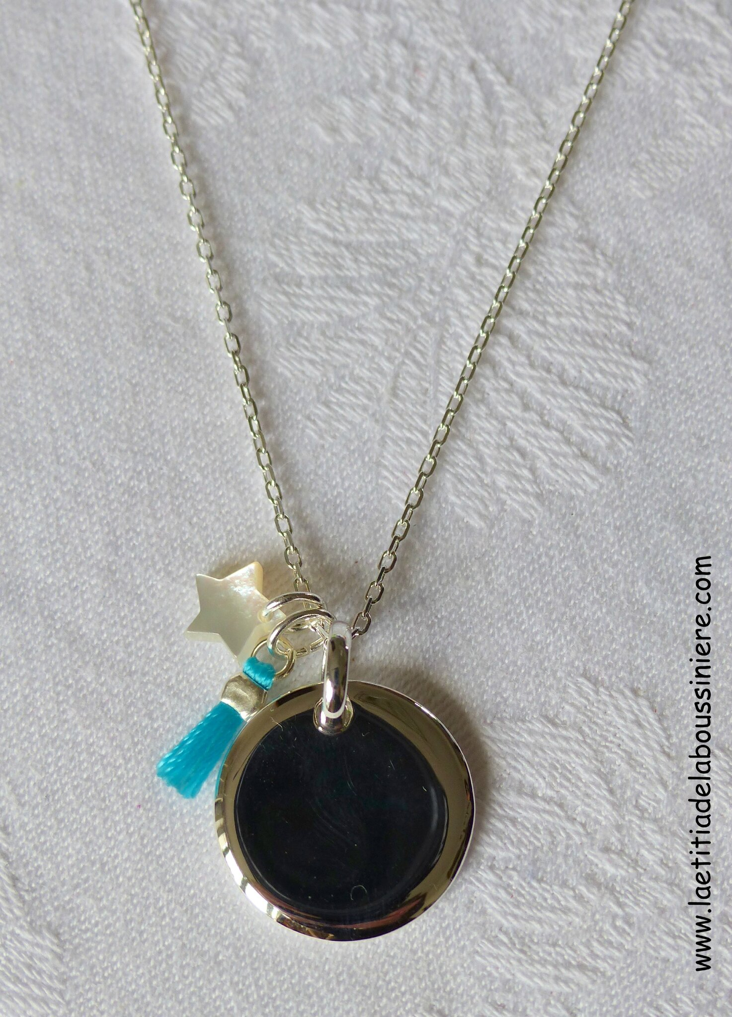 Collier Mary (turquoise) - 59 €