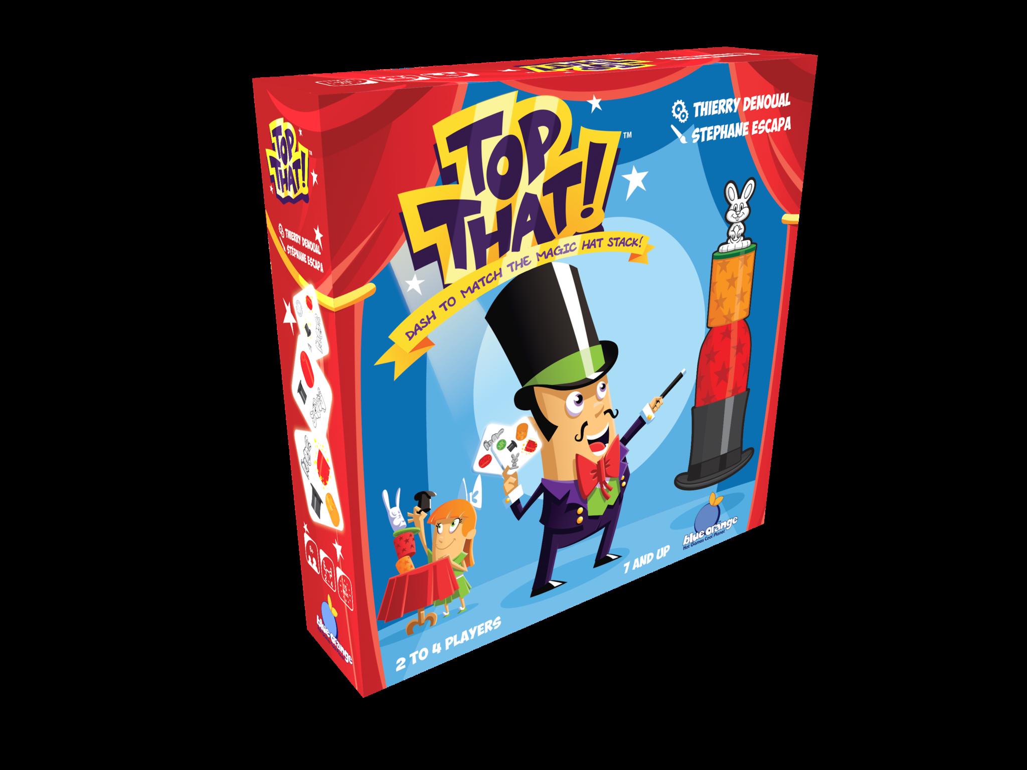 Boutique jeux de société - Pontivy - morbihan - ludis factory - Top that