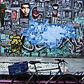 Barcelone, art urbain, vélo_6076