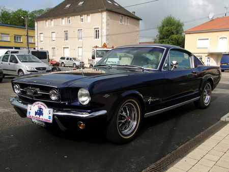 FORD Mustang 2+2 Fastback Coupe 1965 La Ronde Saulnoise 2010 3