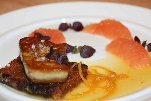 foie gras pamplemousse