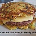 Galettes burger