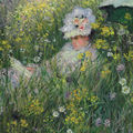 Claude monet's dans la prairie sells for $16,164,918 at christie's auction of impressionist and modern art