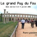 Weekend au Puy du Fou