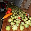 Confiture de tomates vertes à la cannelle