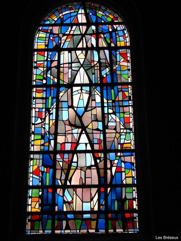 Alfred Manessier - Église Saint Michel - Les Bréseux - Doubs - 1950