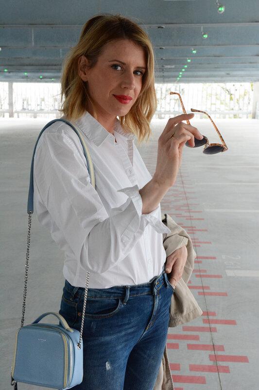 Casual chic en Chemise blanche - styliz (31)