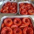 Congélation de tomates à farcir...