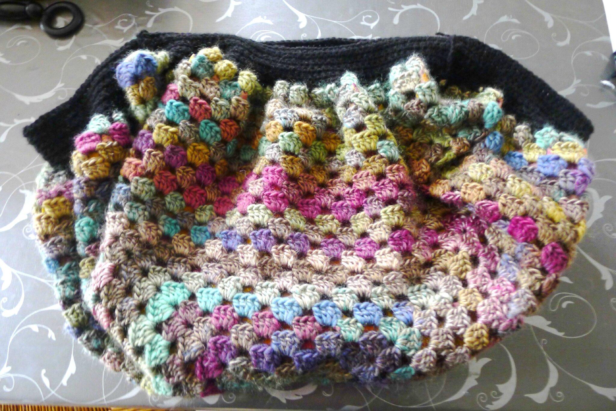 sac boule au crochet