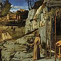 Saint-françois dans le désert -- giovanni bellini (v.1480)