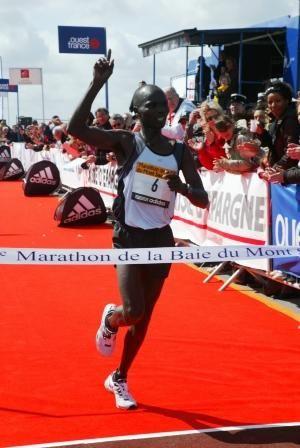 le marathon du Mont-Saint-Michel 2009