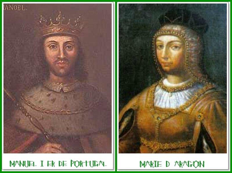 Manuel 1er et Marie d'aragon
